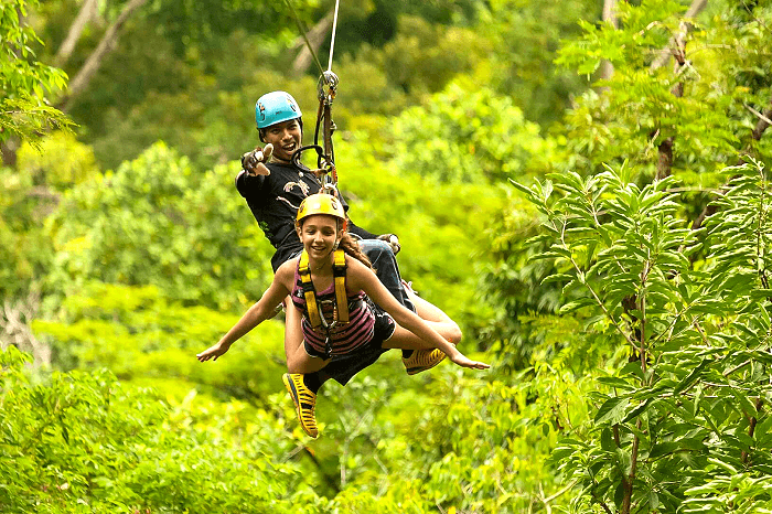 Hanuman World Zipline