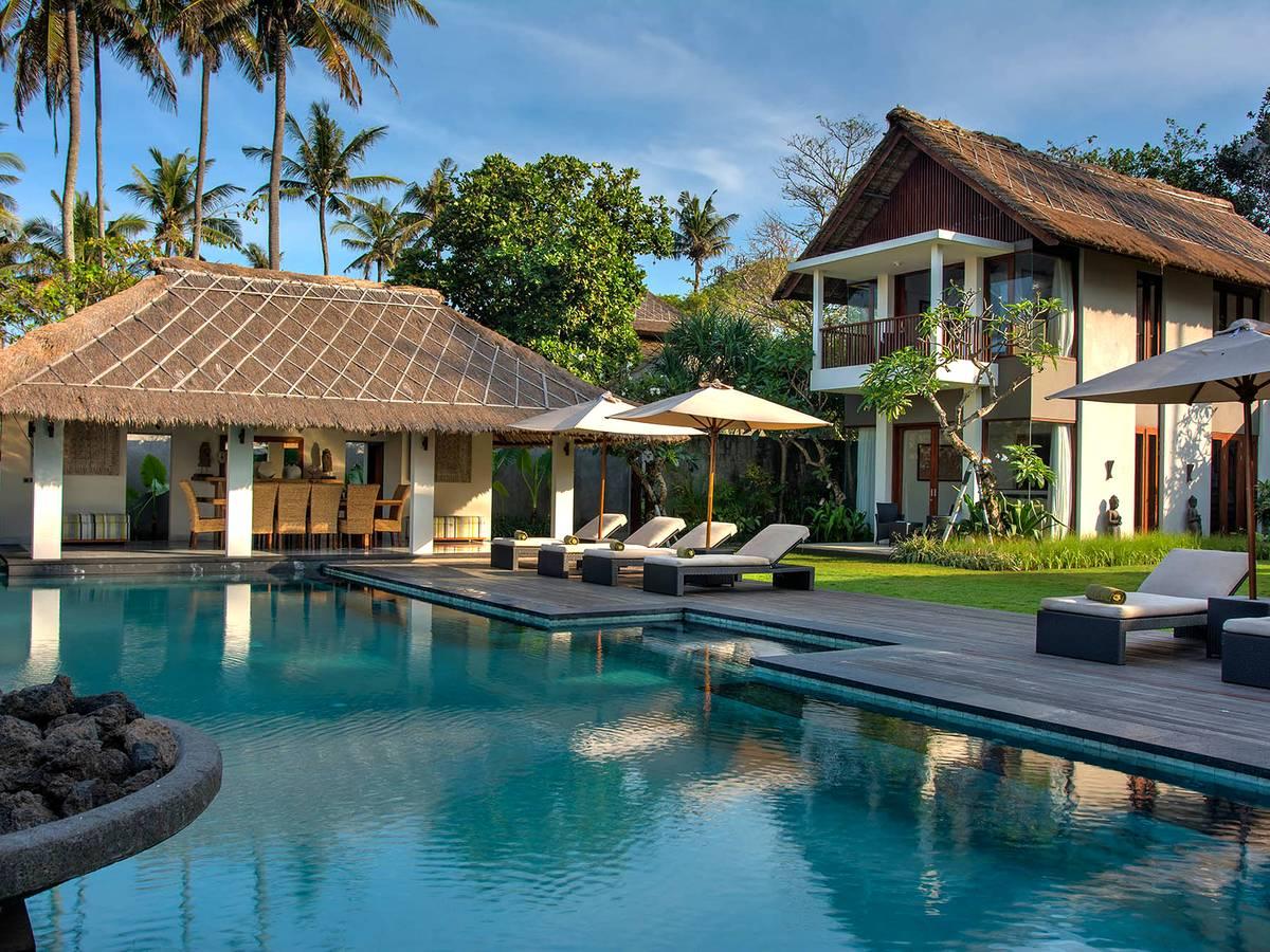 Villa Seseh Beach Villa I 5 Bedroom Villa For Rent At Seseh Tanah Lot Bali Indonesia