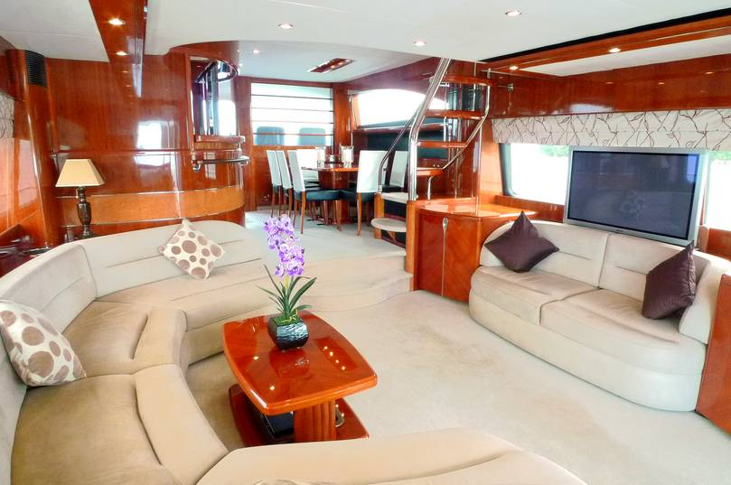 Luxury 75 ft Motor Yacht Sanook